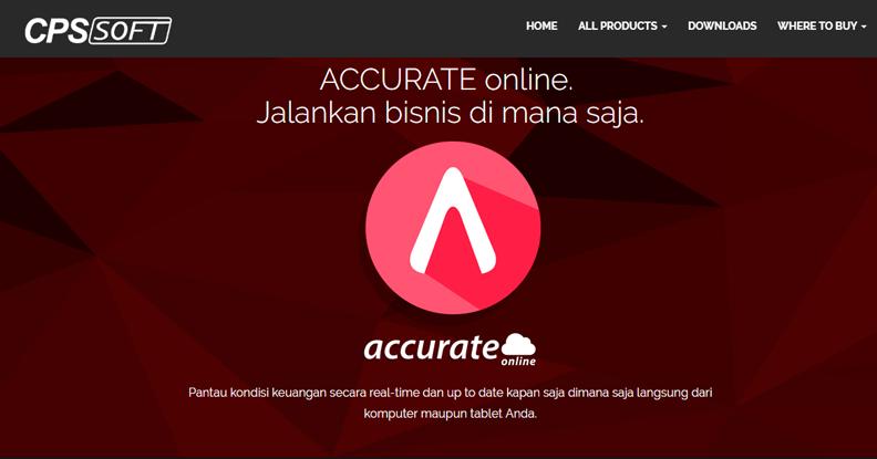 Software Akuntansi Terbaik - Accurate Accounting