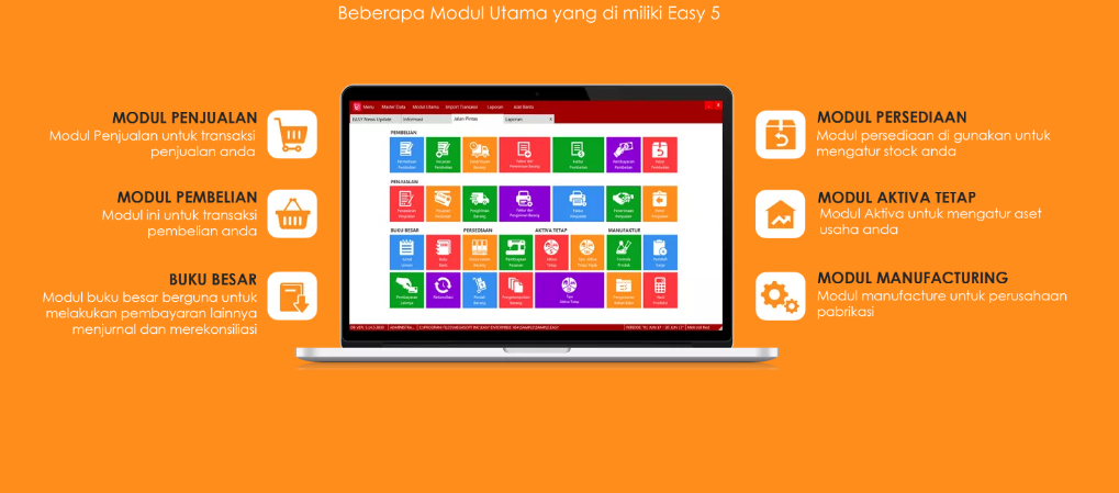 Review Software Akuntansi - Modul Easy Accounting