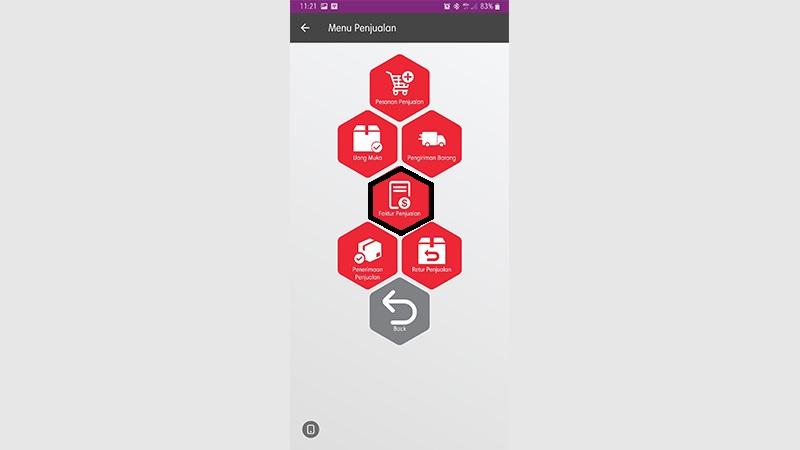 transaksi dengan project - easy mobile 1
