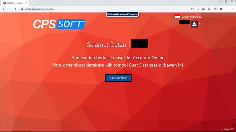 membuat database accurate online & easy cloud - 1